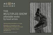 THE MULTIPLES SHOW exhibition opening Friday, Nov.20, 7 to 9pm